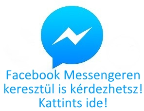 FB Messenger üzenet